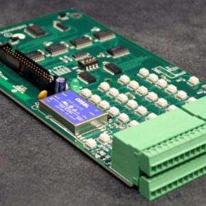 C Card, for use as an addition to a FMS unit. Supplies an additional 24 digital NO or NC inputs.