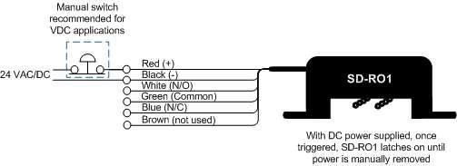 [CSDW_4250]   SD-RO1 – wiring diagram | RLE Technologies | Sd Wiring Diagram |  | RLE Technologies
