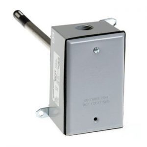Duct mount temperature sensor
