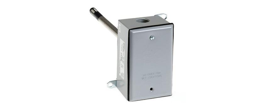 Duct mount temperature sensor