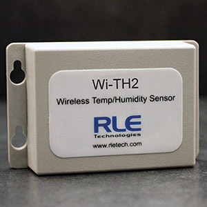 Wi-TH2 wireless temperature and humidity sensor