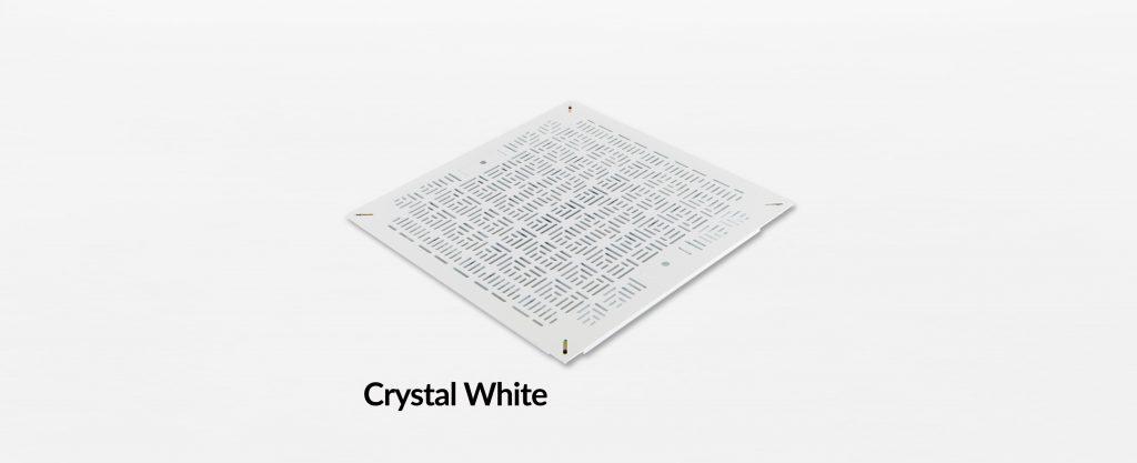 Triad Chamfer Panel Crystal White