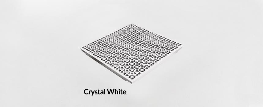 Triad Aluminum Crystal White Panel