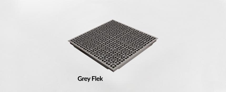 Triad Aluminum Grey Flek Panel