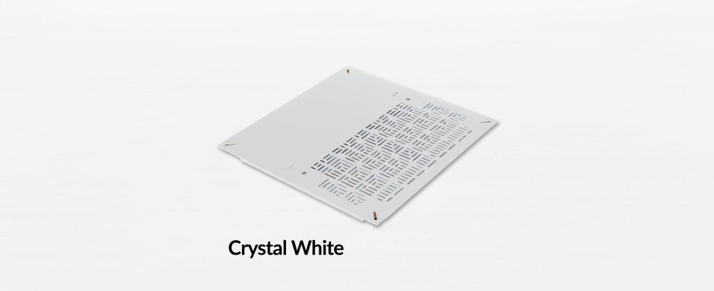 Triad Chamfer Hybrid Panel Crystal White