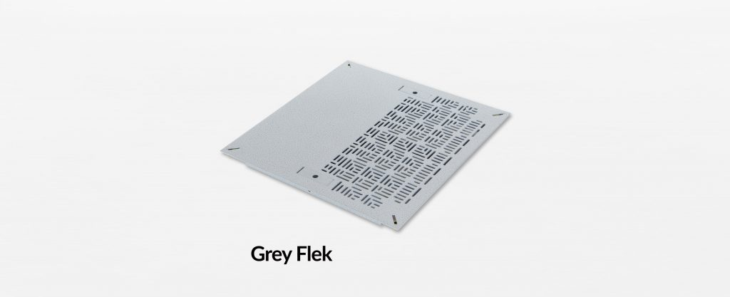 Triad Chamfer Hybrid Panel Grey Flek