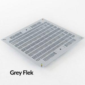 Triad Slotted Panel Grey Flek