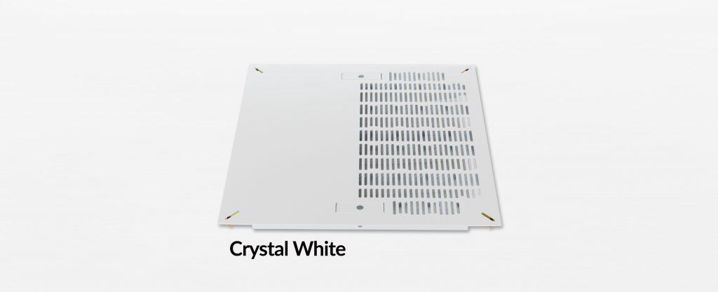 Triad Slotted Hybrid Panel Crystal White