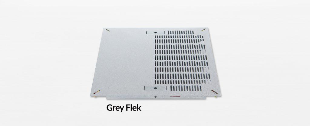 Triad Slotted Hybrid Panel Grey Flek
