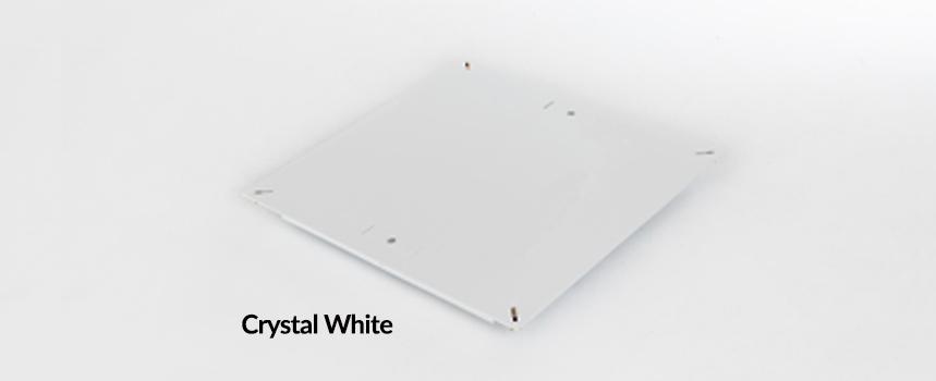 Triad Solid Steel Raised Floor Panel Crystal White