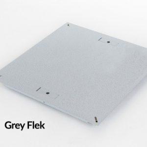 Triad Steel Solid Raised Floor Panel Grey Flek